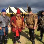 Allan of Harris, Sir Harry, Sir Fergus and Sir David